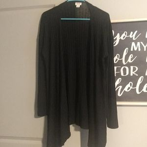 Tunic length Cardigan